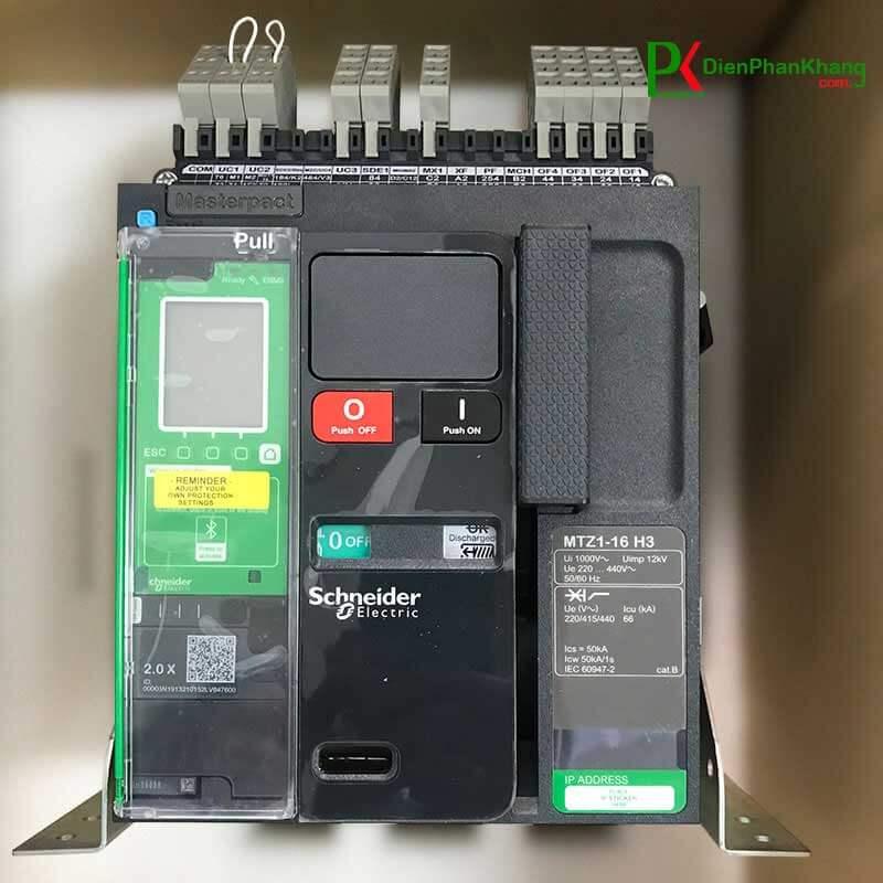 MTZ106H22.0X3PMF Máy cắt không khí ACB Schneider Masterpact MTZ