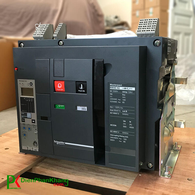 NW16H23D2 Máy cắt không khí ACB Schneider MasterPact NW