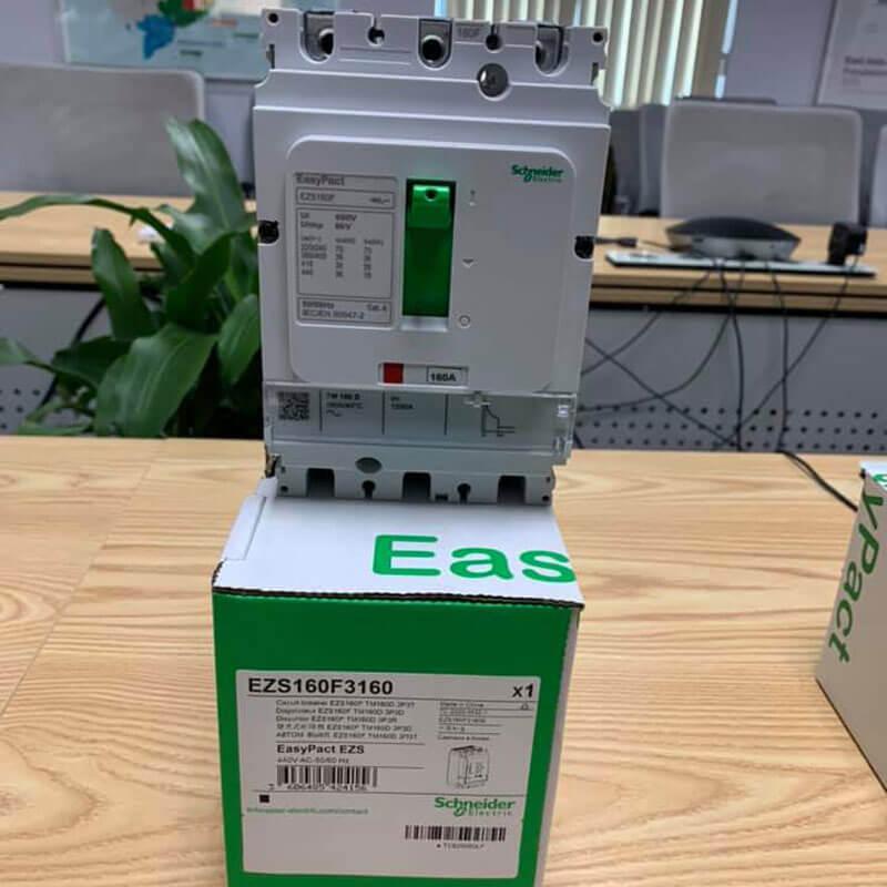 EZS100E3025 Aptomat khối MCCB Schneider EasyPact 3P 25A 25kA