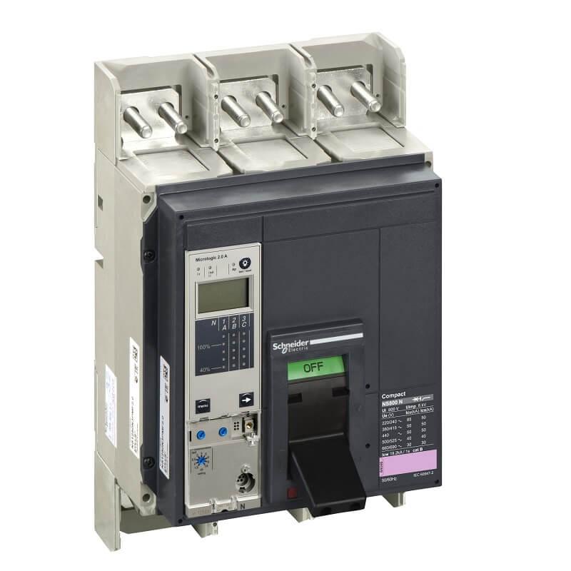 NS160H3E2 Aptomat CB Khối Compact NS MCCB Schneider