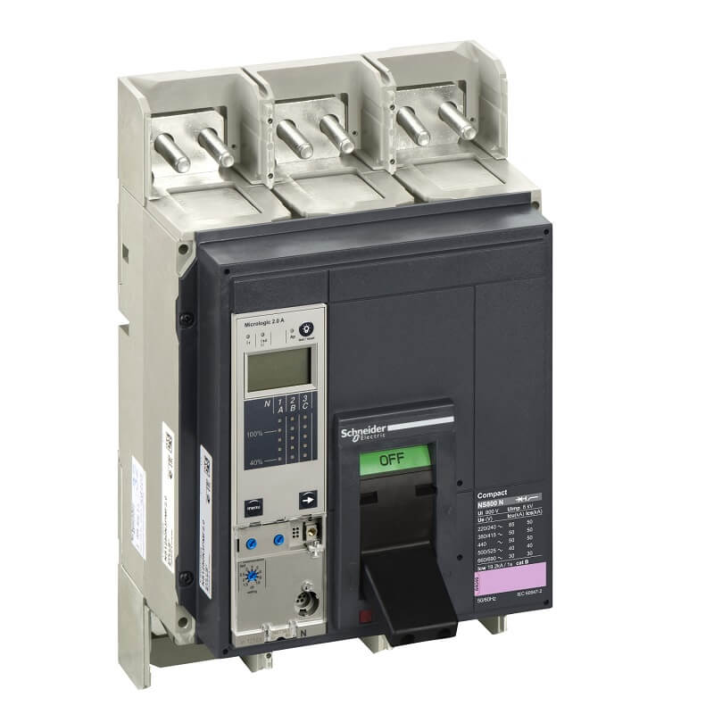 NS160H3M2 Aptomat CB Khối Compact NS MCCB Schneider