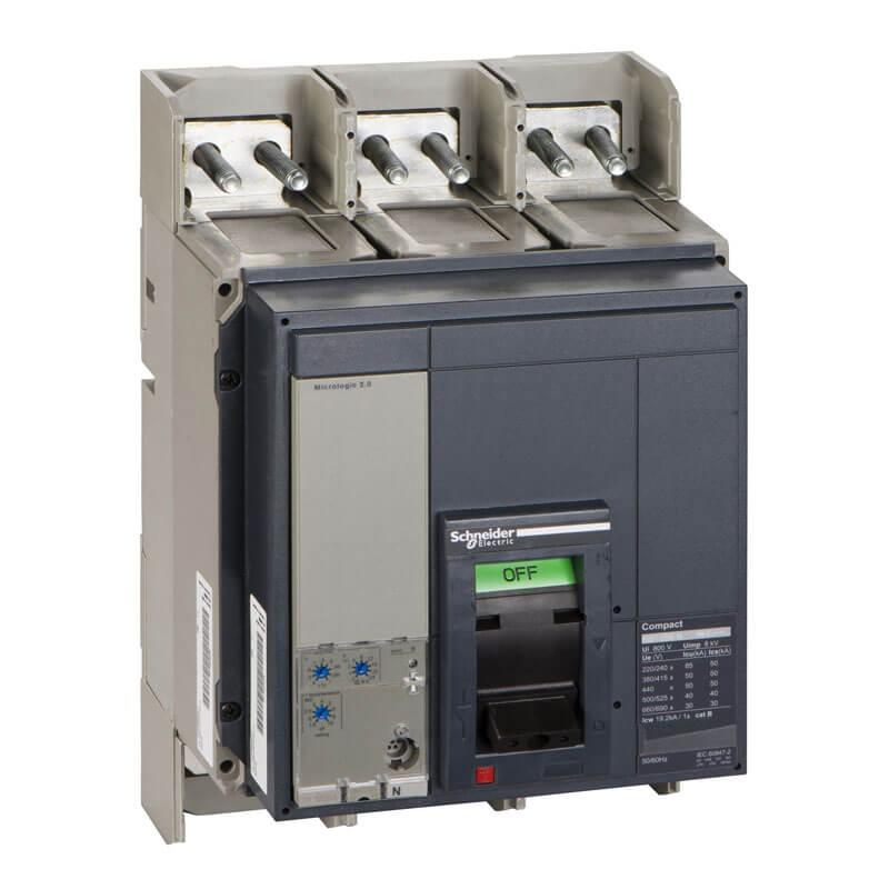 NS080H3M2 Aptomat CB Khối Compact NS MCCB Schneider