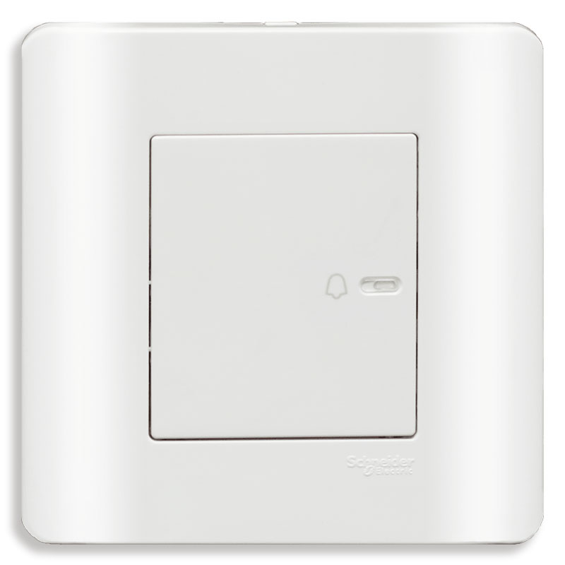 E8431BP1_G19 Bộ công tắc chuông 10A, màu trắng