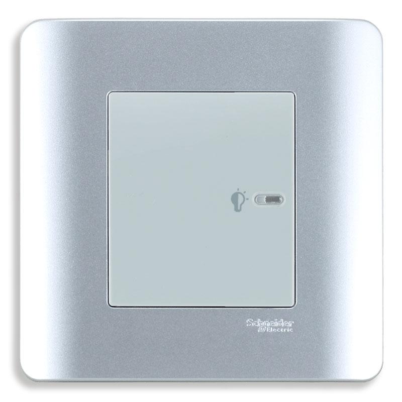 E8431EPD4_SA Dimmer điều chỉnh ánh sáng đèn, màu xám bạc