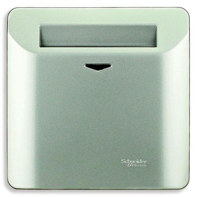 E8431EKT_SA Bộ công tắc chìa khóa thẻ, màu xám bạc