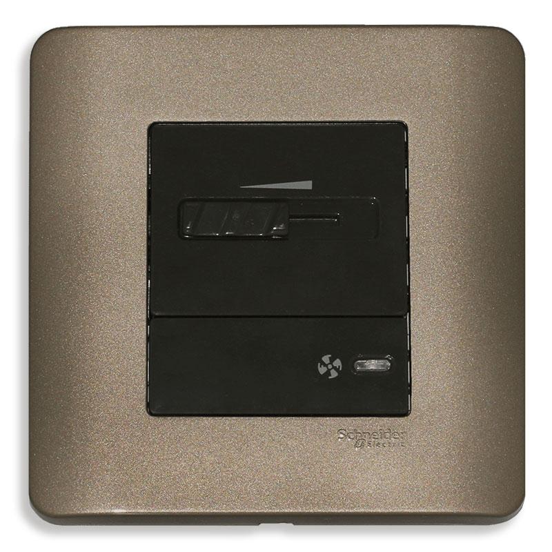 E8431SPF_SZ Dimmer điều chỉnh tốc độ quạt, màu đồng