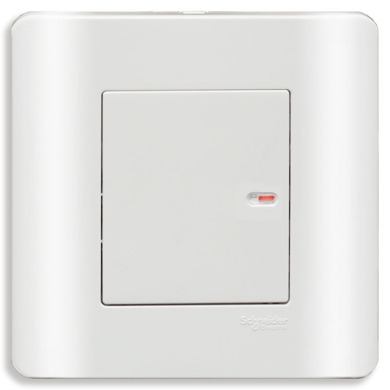 E8431_2_G19 Bộ công tắc đơn 2 chiều, màu trắng