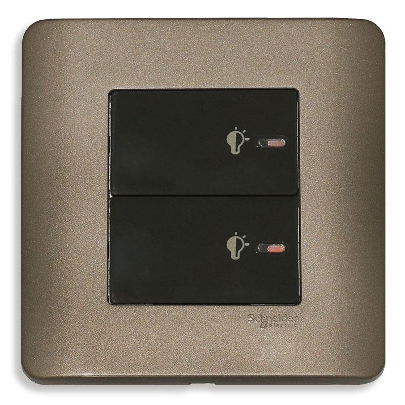 E8432EPD3_SZ Dimmer điều chỉnh ánh sáng đèn, màu đồng