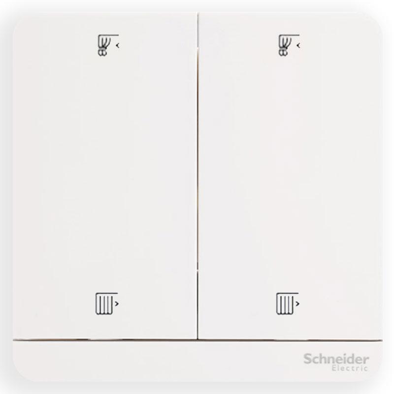 E8332C_WE_G19 Bộ công tắc rèm 10A, màu trắng