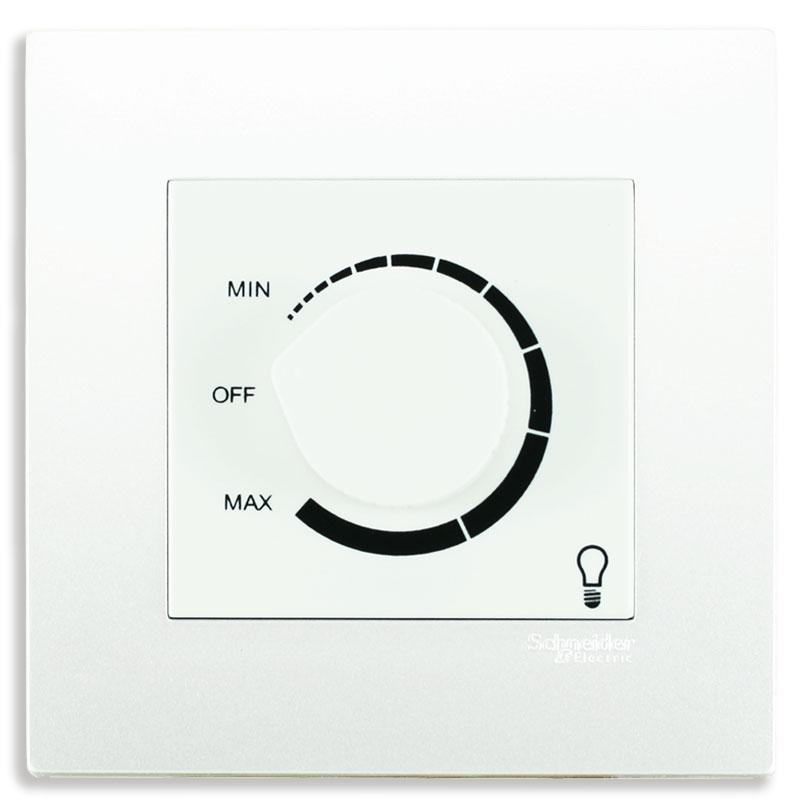 KB31RD400_WE Dimmer điều chỉnh ánh sáng đèn màu trắng