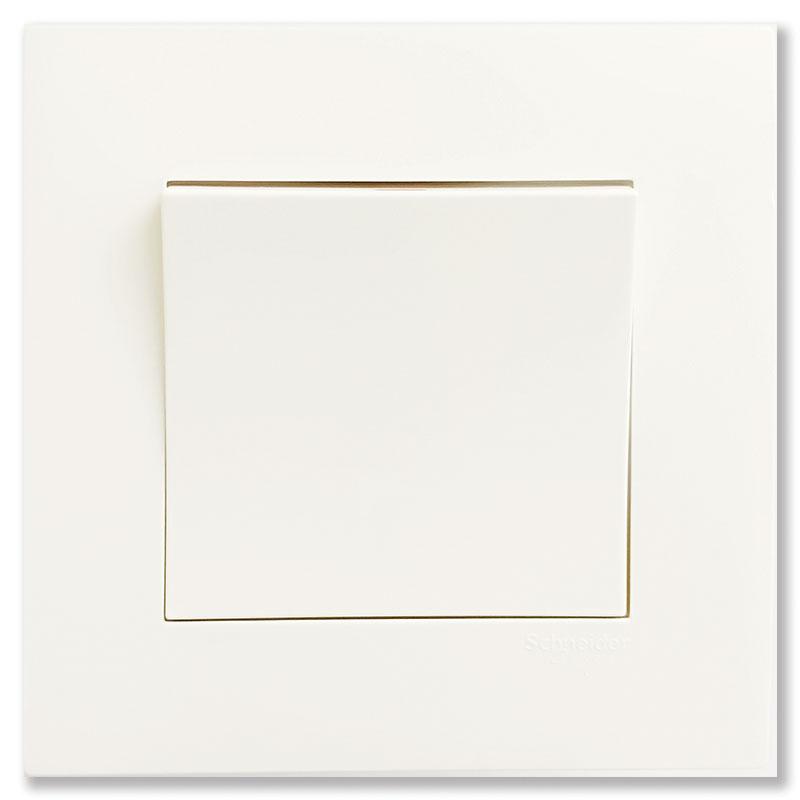 KB31_WE_G19 Bộ công tắc đơn 2 chiều màu trắng