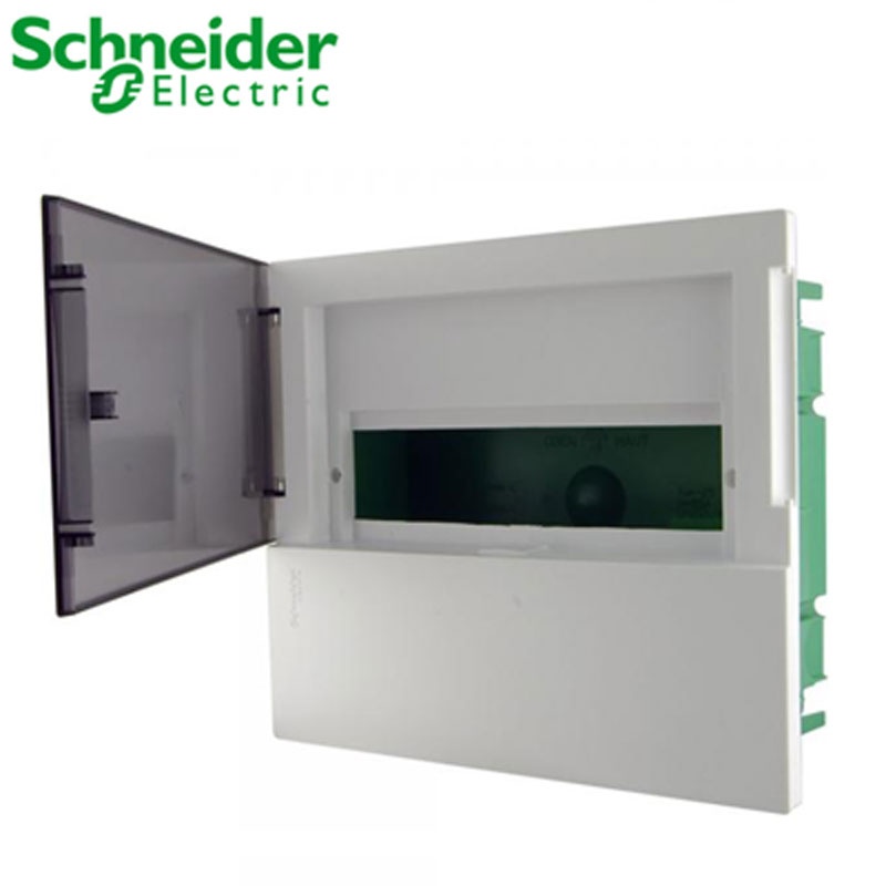 Tủ điện nhựa âm tường MIP22104T Schneider 4 đường cửa mờ