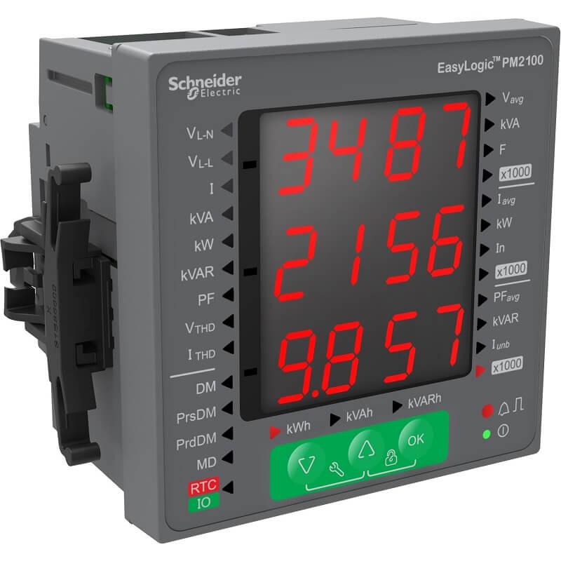 METSEPM2130 Đồng hồ đo điện đa năng Schneider PM2000 Series