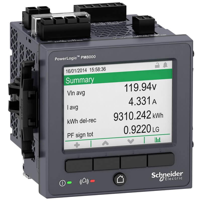 METSEPM8240 Đồng hồ đo điện đa năng Schneider PM8000 Series