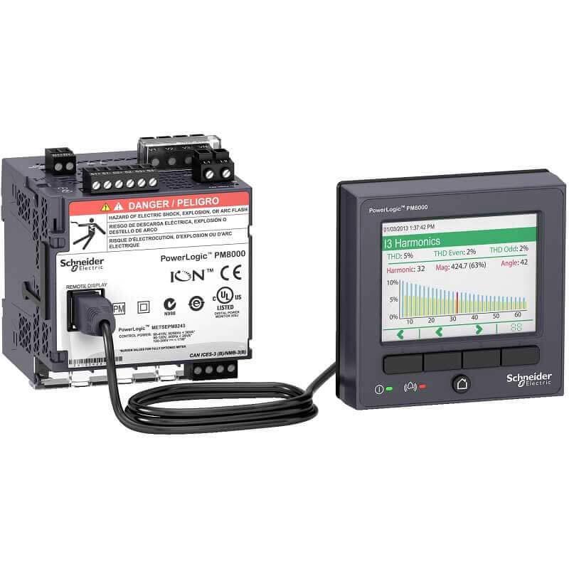 METSEPM8244 Đồng hồ đo điện đa năng Schneider PM8000 Series