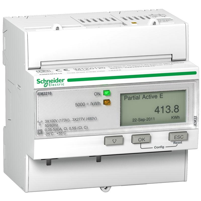 A9MEM3210 Đồng hồ đo năng lượng tích hợp sẵn biến dòng Schneider