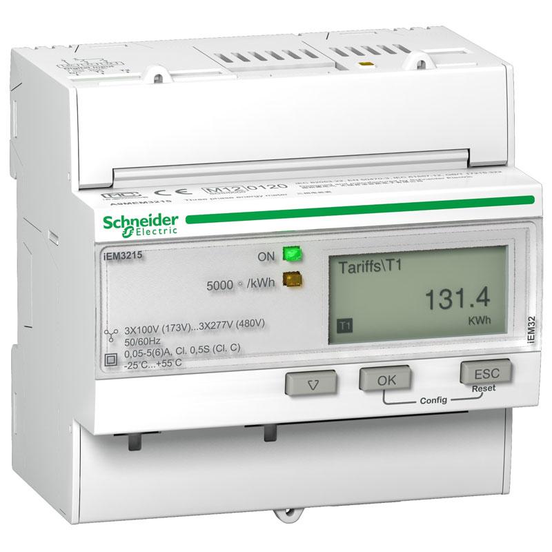 A9MEM3215 Đồng hồ đo năng lượng tích hợp sẵn biến dòng Schneider