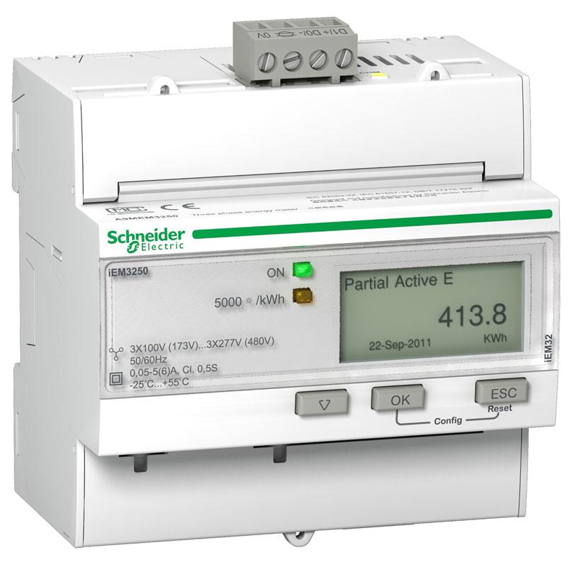 A9MEM3250 Đồng hồ đo năng lượng tích hợp sẵn biến dòng Schneider