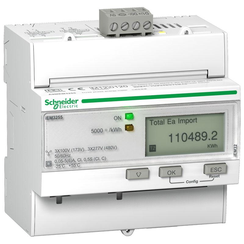 A9MEM3255 Đồng hồ đo năng lượng tích hợp sẵn biến dòng Schneider