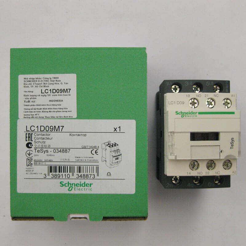 LC1D09M7 Khởi động từ - Contactor Schneider