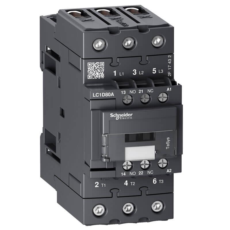 LC1D80AM7 Khởi động từ Contactor loại LC1D Schneider