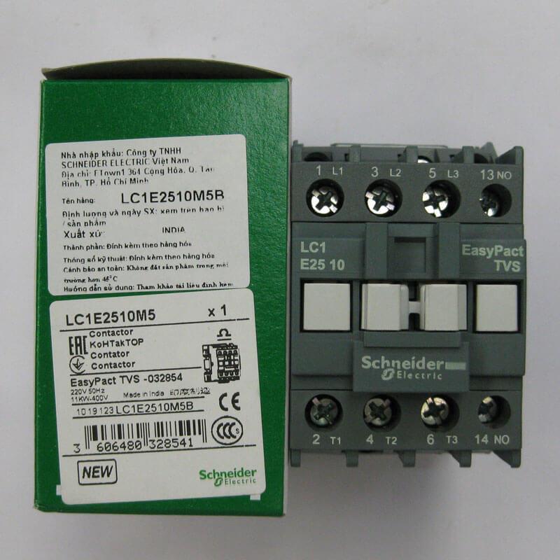 LC1E1201M5 Khởi động từ Contactor EasyPact TVS loại LC1E Schneider
