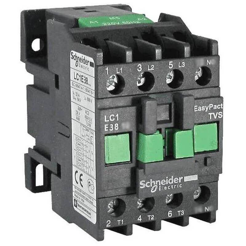 LC1E3801M5 Khởi động từ Contactor LC1E Schneider