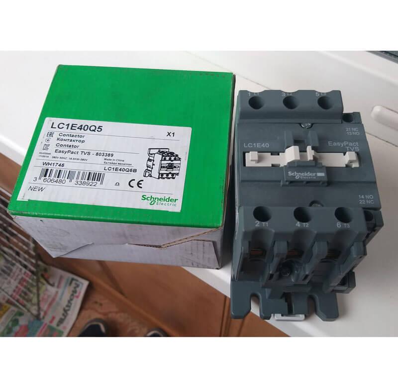 LC1E40M5 Khởi động từ Contactor LC1E Schneider