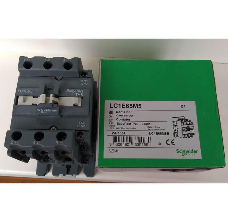 LC1E65M5 Khởi động từ Contactor LC1E Schneider