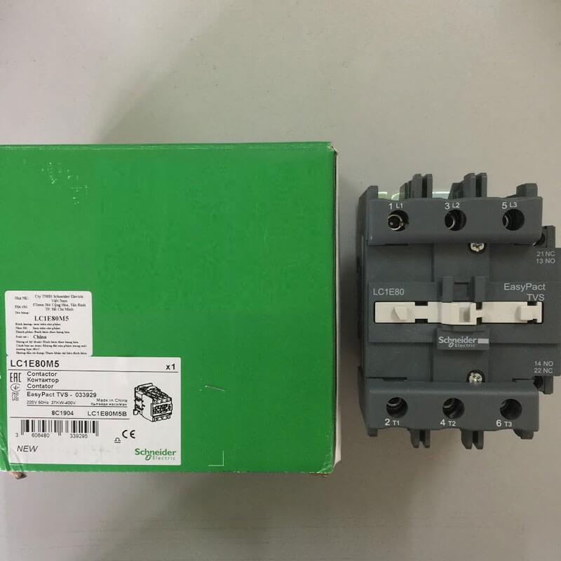 LC1E80M5 Khởi động từ Contactor LC1E Schneider