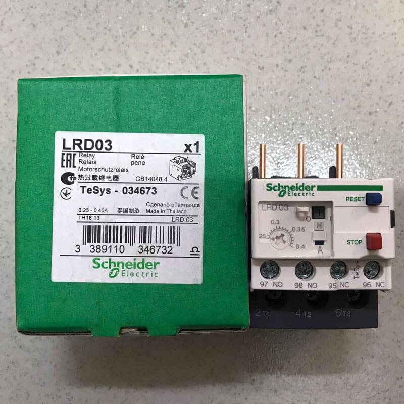LRD03 Relay nhiệt TeSys loại LRD Schneider
