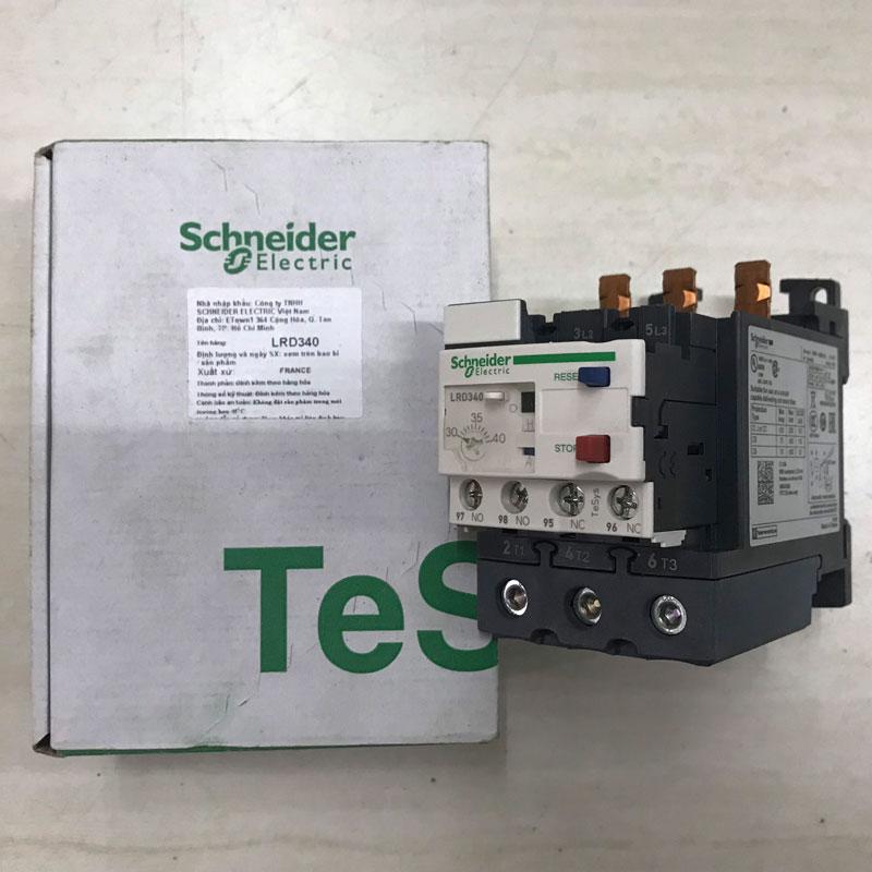 LRD340 Relay nhiệt TeSys loại LRD Schneider