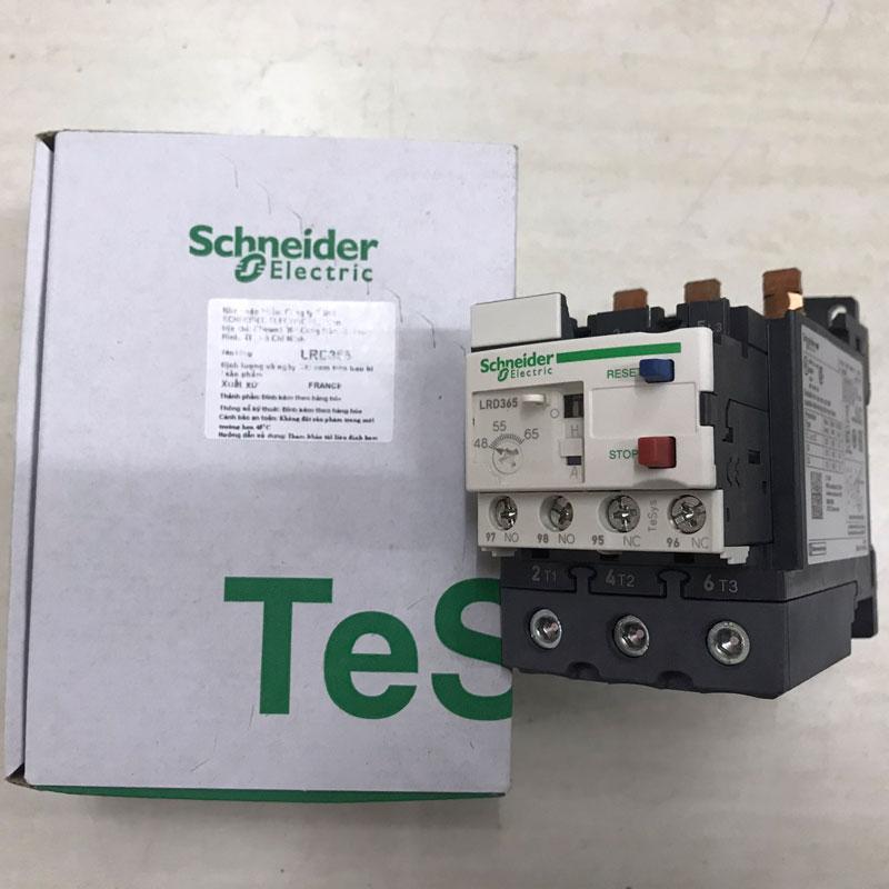 LRD365 Relay nhiệt TeSys loại LRD Schneider