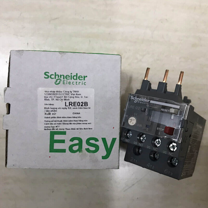 LRE02 Relay nhiệt EasyPact loại TVS LRE Schneider
