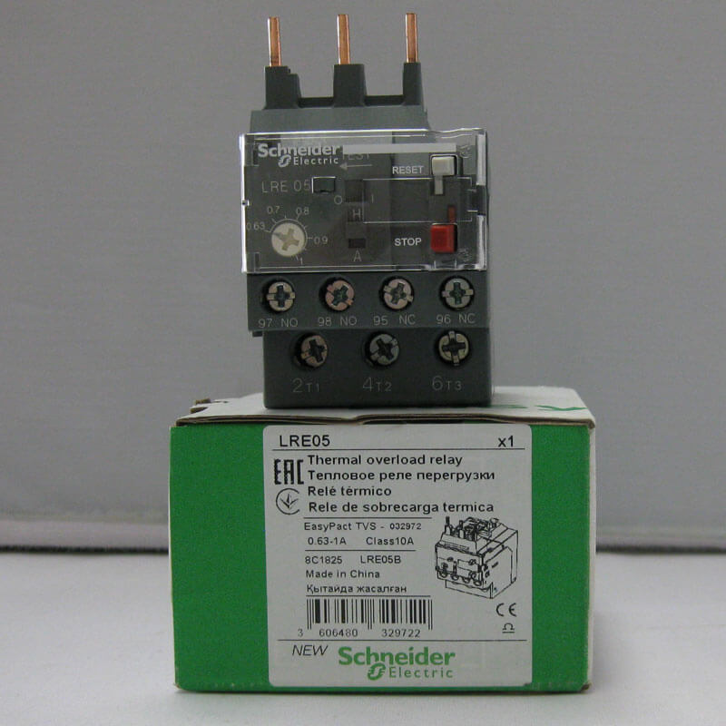 LRE05 Relay nhiệt EasyPact loại TVS LRE Schneider