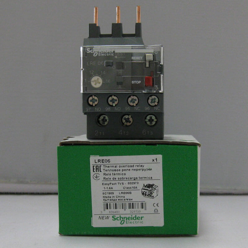 LRE06 Relay nhiệt EasyPact loại TVS LRE Schneider