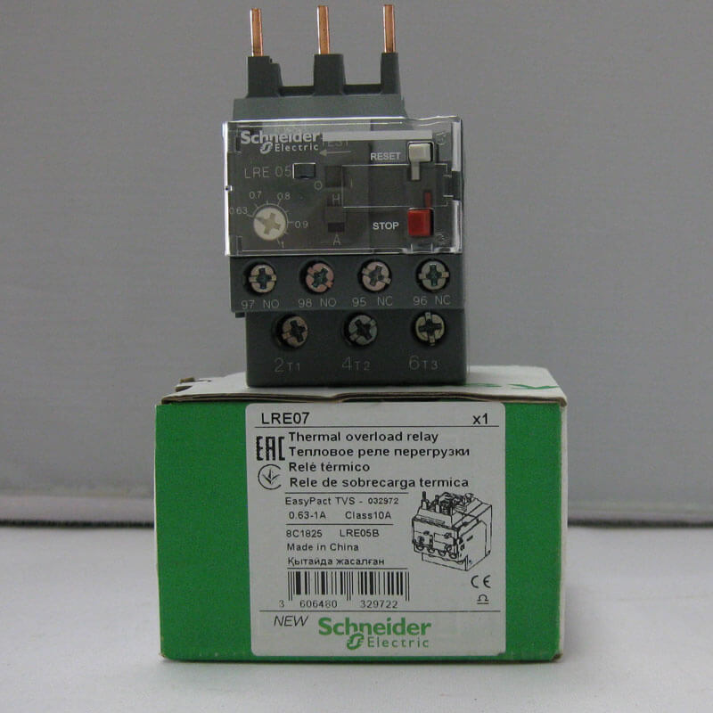 LRE07 Relay nhiệt EasyPact loại TVS LRE Schneider