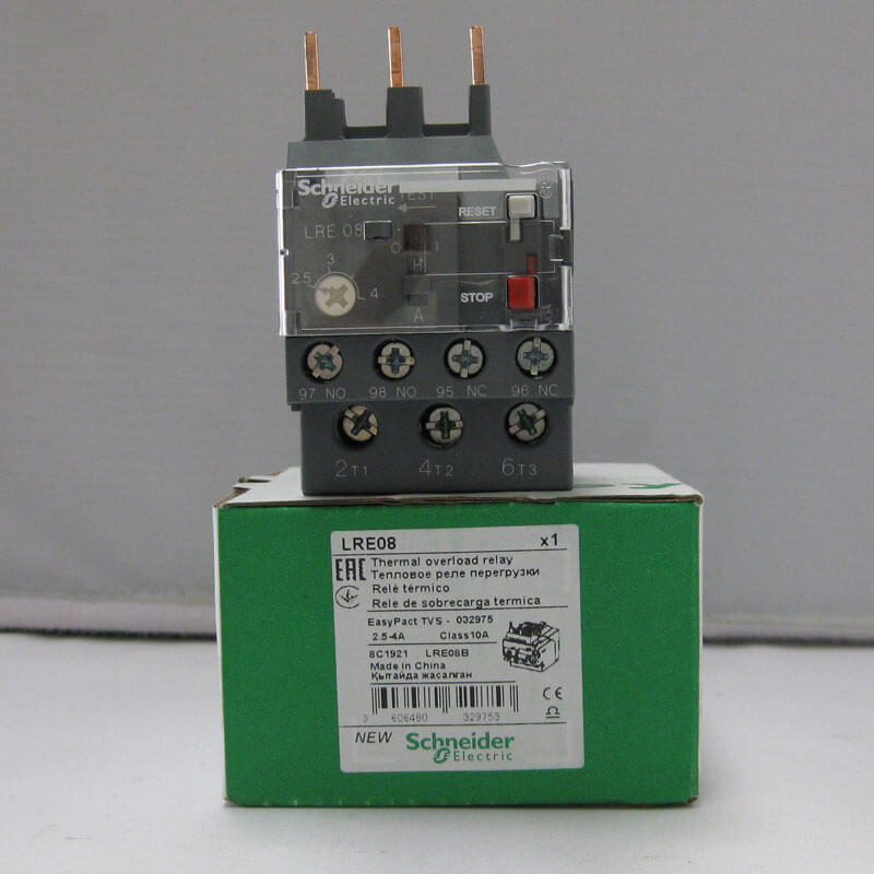 LRE08 Relay nhiệt EasyPact loại TVS LRE Schneider