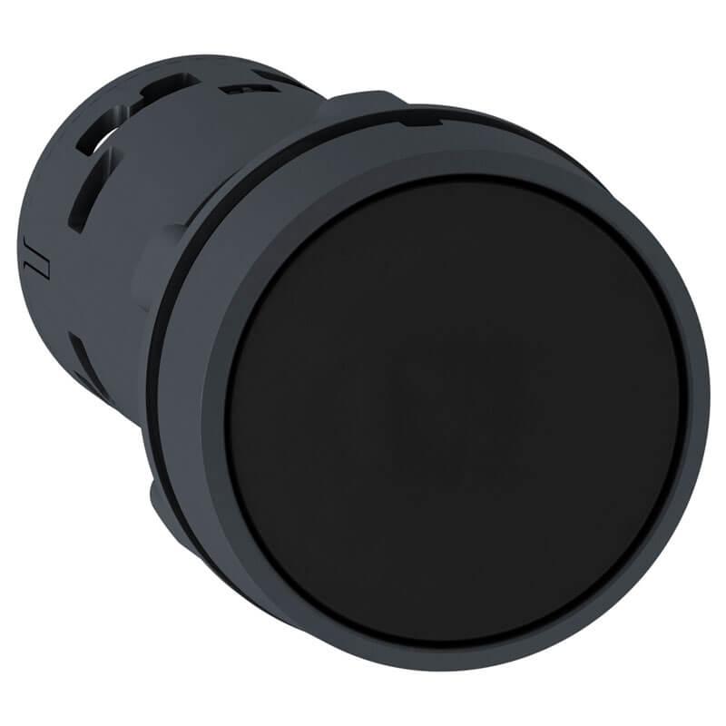 XB7NA21 - Nút nhấn màu đen 1NO
