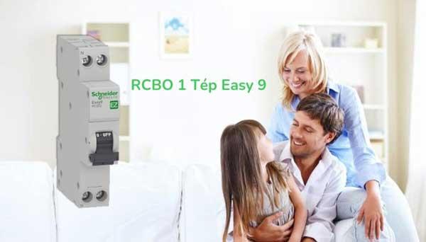 RCBO 1 tép Easy9 của Schneider Electric