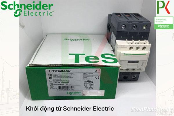Khởi động từ LC1D40AM7 hãng Schneider Electric