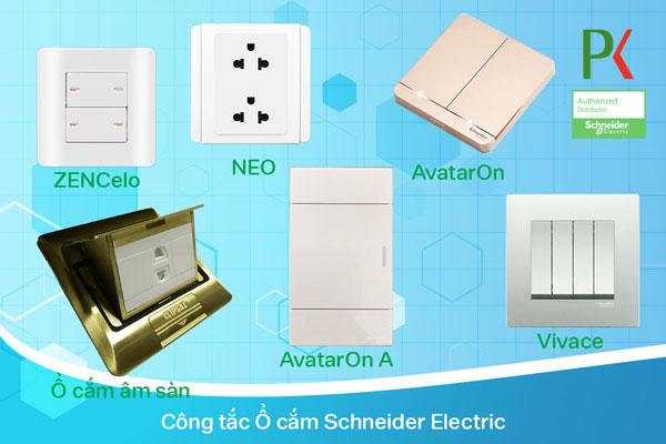 Công tắc ổ cắm Schneider Electric