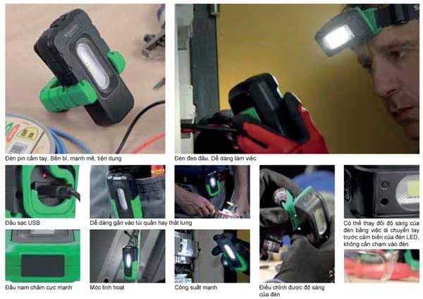 Đèn chuyên dụng có thể sạc Schneider Electric