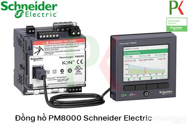 Đồng hồ PM8000 Schneider Electric
