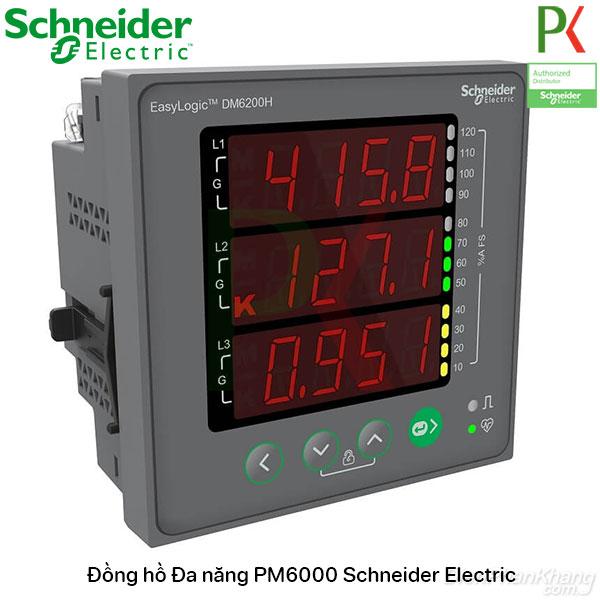 Đồng hồ đa năng giá rẻ DM6000 Schneider Electric