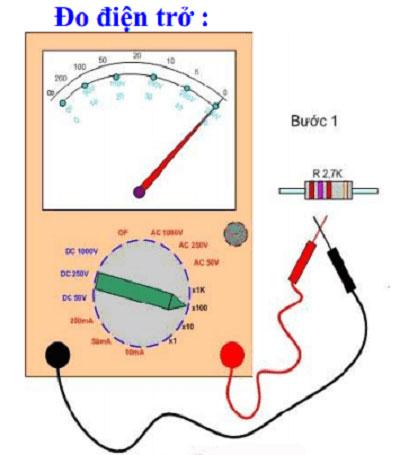 Cách đo điện trở bằng đồ hồ VOM