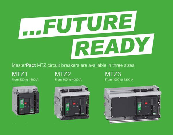Máy cắt không khí Masterpact MTZ Schneider Electric