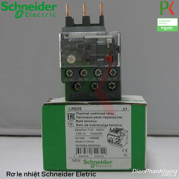 Rờ le nhiệt Schneider Electric