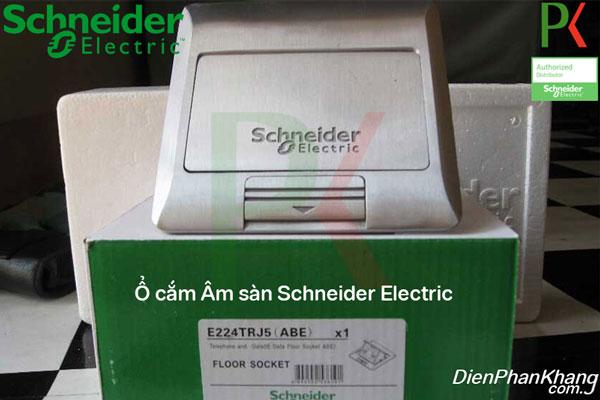 Ổ cắm âm sàn Schneider E224_ABE