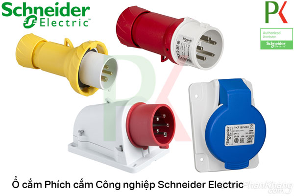 Phích cắm ổ cắm Công nghiệp Schneider Electric